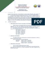 Math Club-Accomplishment Report