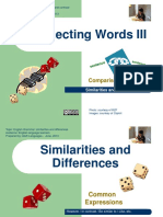 Connecting Words Similarities and Differences