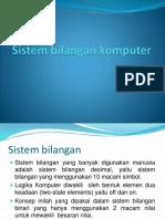 Sistem Bilangan Komputer Tugas Elektro