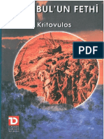 Kritovulos - İstanbul'Un Fethi