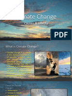 Climate Change - Causes & Effects