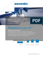 Panasonic TwinGuard ULT Freezers Overview Brochure 1516632086