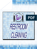 Restroom Cleaning Procedures