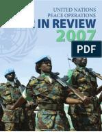 UN Peace Operations 2007