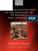 Union and Distinction in the Thought of St Maximus the Confessor.pdf
