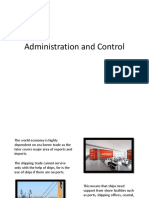 Administration and Control