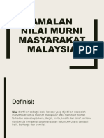 Amalan Nilai Murni Masyarakat Malaysia