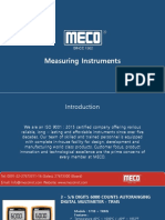 Measuring Instruments - Mecoinst
