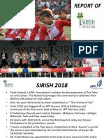 Sirish 2018 Report