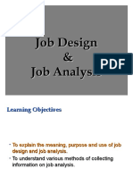 2A. Job Design &.Job Analysis 2018