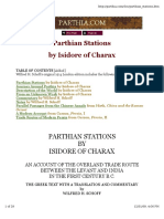 Parthian Stations by Isidore of Charax