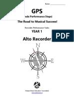 GPSrecorder Alto