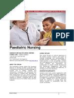 Paediatrics Nursing