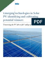 ADL Renewable Energy Emerging PV Technology