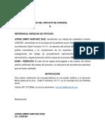 SEÑOR Papa de Jorge Luiz
