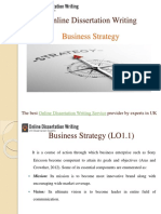 Sample PPT on Business Strategy for the students of UK