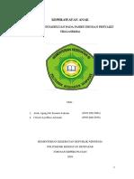 Buku Askep Praktis Fix Thalasemia With Nutrisi