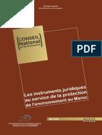 Les Instruments Juridiques Au Service de La Protection de l'Environnement Au Maroc