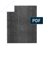 AMORC-The American Rosae Crucis 09 Setiembre 1916 Completo Traducido Al Español
