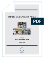 Introducing KAIZEN in Africa 2