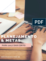 eBook Planejamento Metas Para 2017 Dar Certo