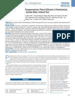 Dexamethasone for Parapneumonic Pleural Effusion; A Randomized,