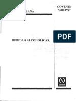 Normas VEnezolanas sobre Bebidas alcoholicas