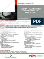 ANPQP. Alliance New Product Quality Procedure