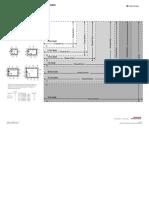 Cutout Templates for PV+ 7 Terminals (standard models) - 2711P-DS010B-EN-P - June 2014