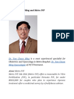 Dr. Yow Choon Ming and Metro IVF