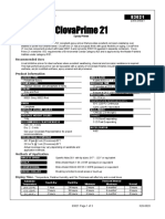 Cloverdale - (Data Sheet) Clovaprimer h20-0020