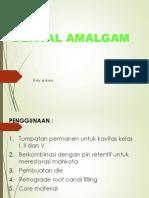 Amalgam Ppt