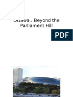 Ottawa…Beyond the Parliament Hill