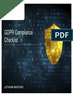 GDPR Compliance Checklist 003