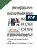 Analisa Sumber Air Dan Penggunaan Energi