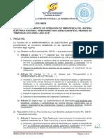 Sie 034 2015 Mem Emision Procedimiento Emergencia Del Seni Temporada Ciclonica 2015
