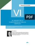 EL DESAFIO DE LA POSMODERNIDAD Para el cristianismo.pdf