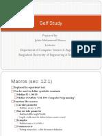 CSE 109 Self Study (Johra Madam)