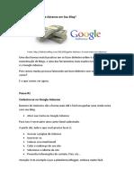 Como Usar O Google Adsense Em Seu Blog