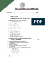 Manual de uso de fuerza de la Policía Nacional
