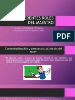Los Diferentes Roles Del Maestro