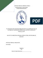 Universidad Privada Antenor Orrego - Proyecto