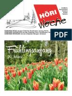 Höriwoche KW11