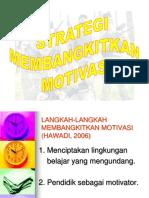 4 Strategi Motivasi