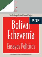 BOLIVAR ECHEVARRIA_Libro Pensamiento Politico.pdf