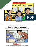 Carlos Va a La Escuela ( Color)