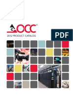 Occ - 2012 Product Catalog