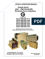 Installation and Operation Manual for Omega Series Amplifiers 3-3-2008