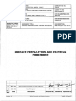 Surface Preparation and Painting Procedure Rev 01 PDF