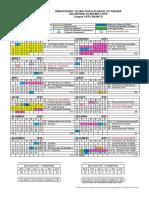 PB - Calendario Academico 2018